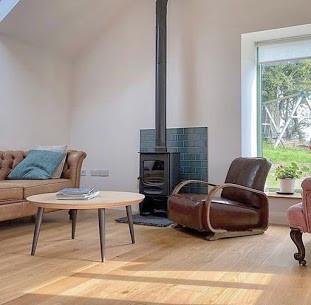 Charnwood c4 Wood Burning stove installa