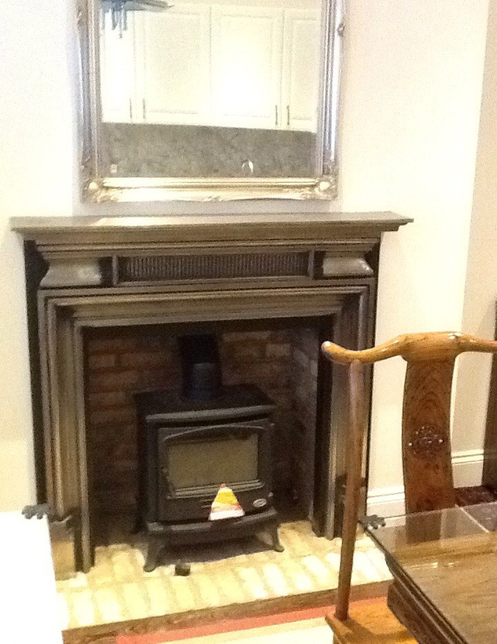 stove and fireplace installation