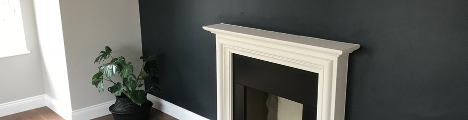 finished fireplace surround installation in ashford