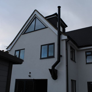 twin wall flue installation in staines.j