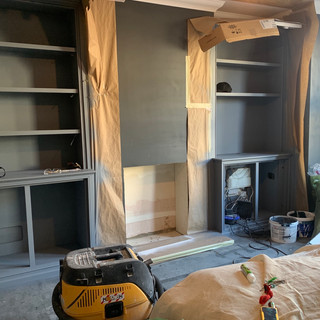 starting a fireplace installation in weybridge