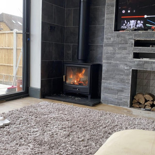twin wall flue installation staines, Mid