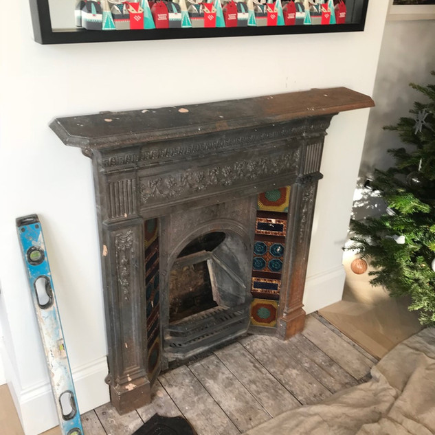 fireplace restoration staines