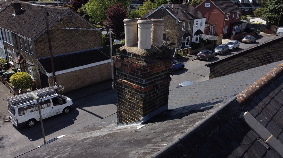 chimney and roof aerial inspection londo