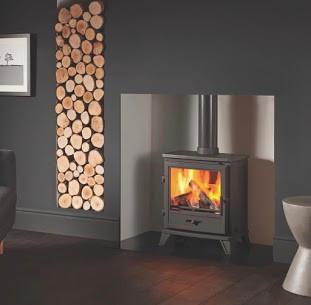 "Capital fireplace ""Bassington"" Eco Stove"