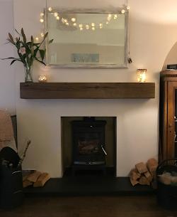 Wood stove installation in Maidenhead1.p