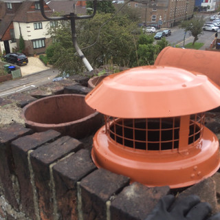 Chimney cowl in staines