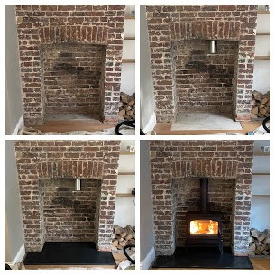 Esse Multi fuel Stove installation In En