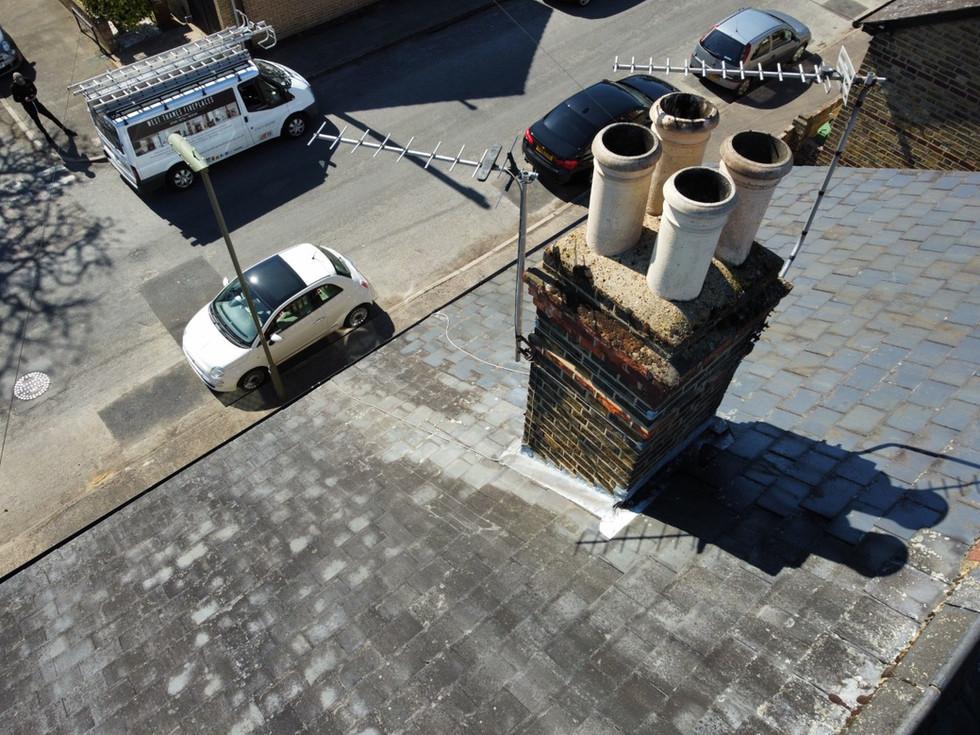 aerial chimney survey ashford middlesex.