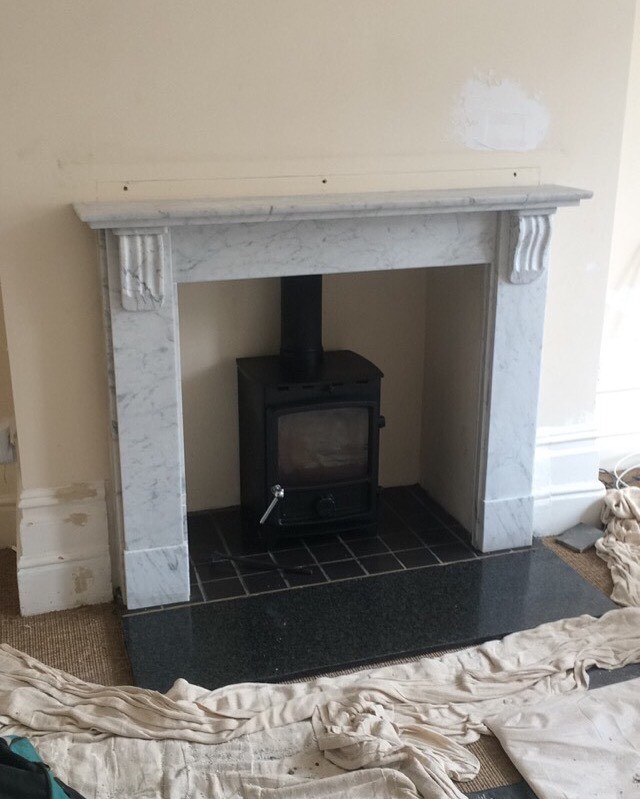 stove and fireplace installation, London