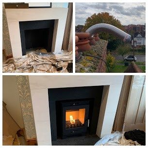 Multi fuel Stove Installation in Ashford