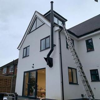 twin wall flue installer in surrey