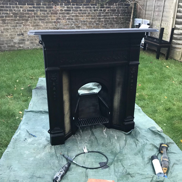 stove restoration Staines