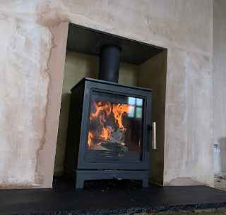 """Skiddaw"" 5kw Wood burning stove - Firep"