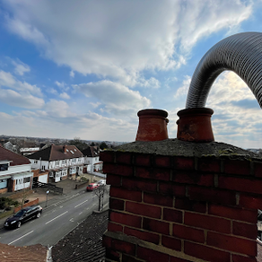 Chimney lining in Isleworth, stove and f