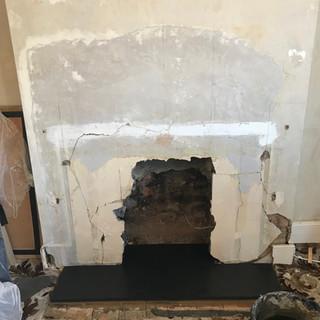 Fireplace Surround Installation 2