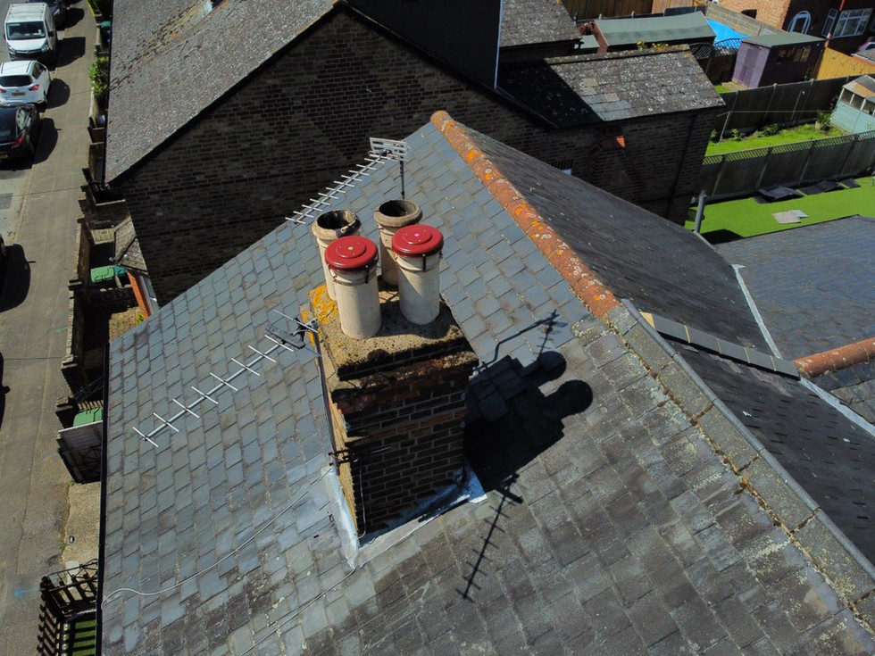 chimneys capped in ashford, middlesex dr
