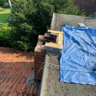 Rebuilding chimney stack in Wraysbury
