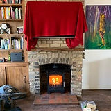 Wood stove installation in Staines upon