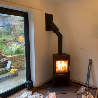 twin wall flue installer in surrey with