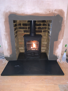 Charwood country 4 wood burning stove in