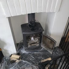 Chimney sweeping today in Staines.jpg