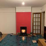 Stovax vision wood burning stove install