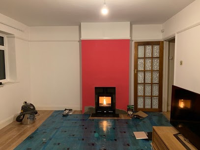 Stovax vision wood burning stove install