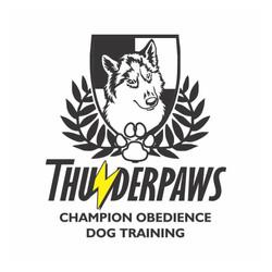 logo design THUNDER PAWS