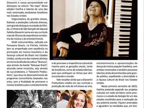 Fatinha Giovanini: A todo vapor