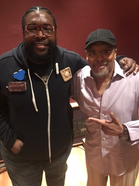 Questlove and James Mtume