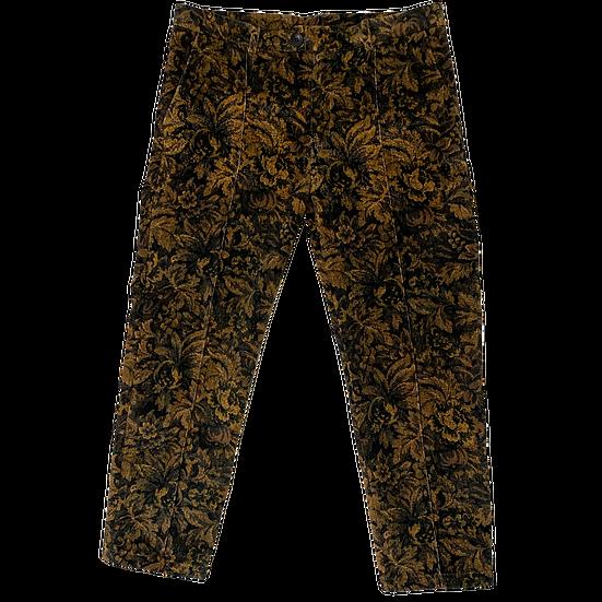 Vintage Motif Trouser