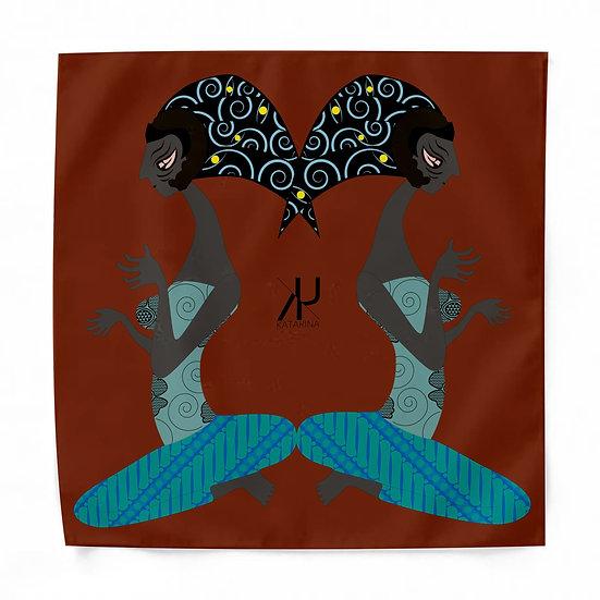 火山の魔女 ハンカチーフ