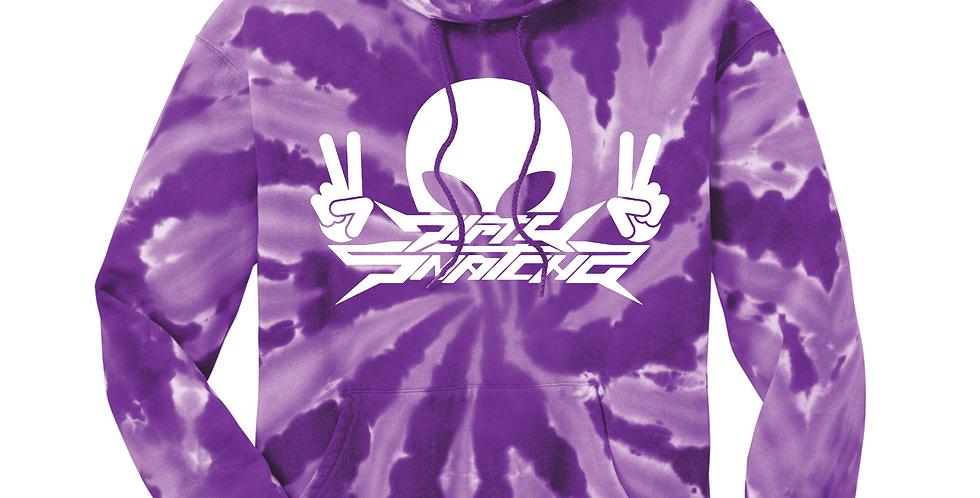 DS Purple Tie-Dye Hoodie
