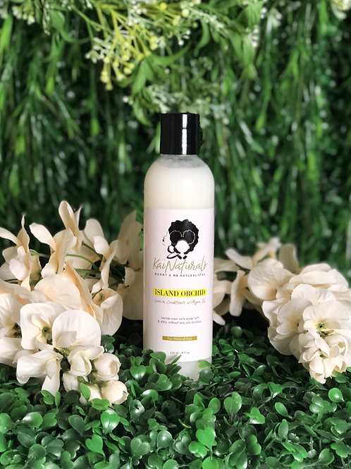 Island Orchid Leave-In Conditioner w/Argan Oil