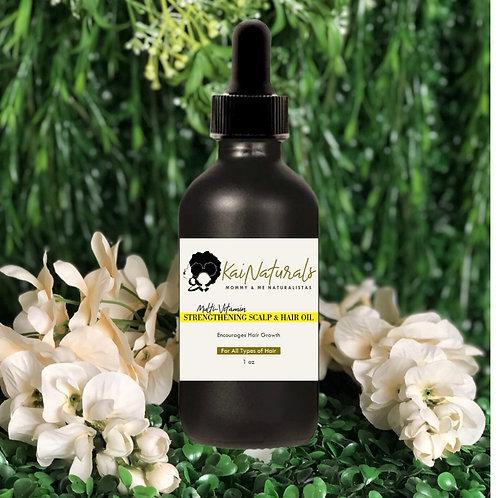Multi-Vitamin Strengthening Scalp & Hair Oil