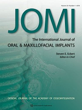 JOMI: the International Journal of Oral & Maxillofacial Implants