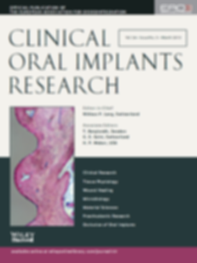 Clincal Oral Implants Research
