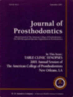 Journal of Prosthodontics