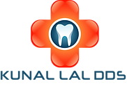 Kunal Lal DDS Logo and portrait