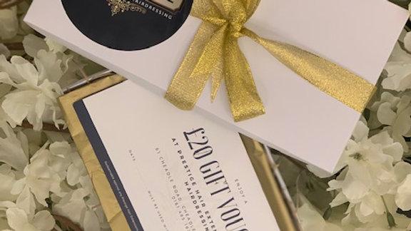 Prestige Hair £20 Gift Voucher