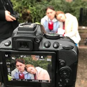 The Newspaper Boy Filming (2018)