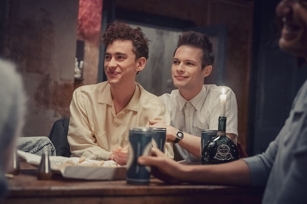 Ritchie Tozer (Olly Alexander) and Donald Bassett (Me) in It's A Sin, Channel 4
