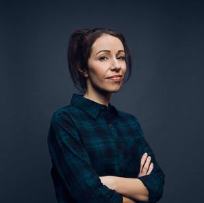 Samantha Siddall as Sharon in the Newspaper Boy (2018)