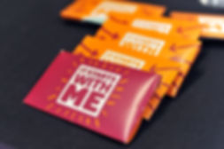 It starts with me condom packets