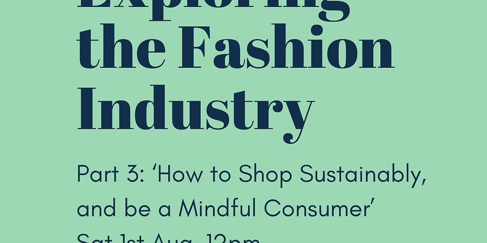 Exploring the Fashion Industry Part 3