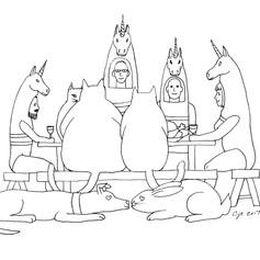 Unicorn Thanksgiving