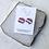 Thumbnail: Striped Neapolitan 3/4 inch Studs