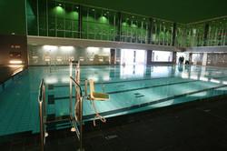 Bilbao Basket Campus piscina