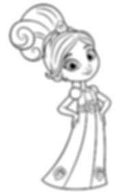 Princess Nella Coloring Page.png